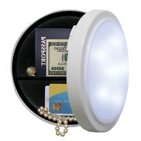 Wireless Closet Light Diversion Safe with 8 Inch Diameter