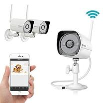 Zmodo 2 Lot Wireless Easy iPhone Mobile View Setup 1