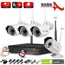 ANRAN 2.0 Megapixel Wireless WIFI 48IR CCTV Surveillance