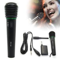 Professional Wireless Wired Microphone Karaoke Singing DJ