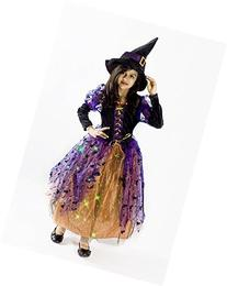 Witch Halloween Costume Girls M