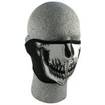 Zan Headgear WNFM002H Neoprene 1/2 Face Mask Skull Face