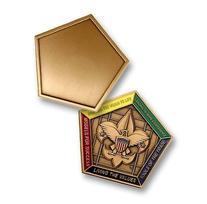 Wood Badge Engravable Medallion