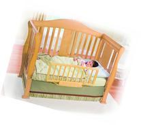 Summer Infant Wood Convertible Bedrail