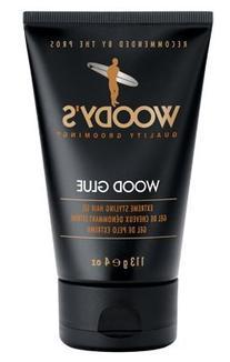 Woody's Wood Glue Extreme Hair Styling Glue For Men- 4oz Gel