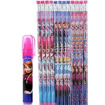 Disney Frozen Wood Pencils 12 and 1 Eraser