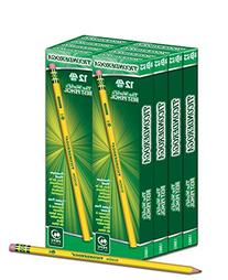 Dixon Ticonderoga Woodcase Pencil, HB #2, Yellow Barrel, 96