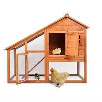 Magshion Wooden Chicken Coop Rabbit Hutch Pet Cage Wood