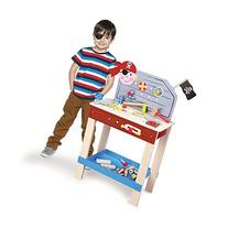 Wooden Wonders Ultimate Pirate Work Bench with 6 Toy Tools and Fasteners  by Imagination Generation