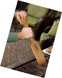 1 X The Woody Paddle - New All Natural BBQ Grill Scraper