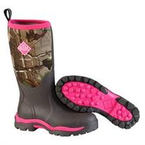 Muck Boots Women Woody PK Tall Winter Hunting Camo Pink Br