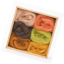 Wool Roving Earth Tones