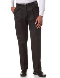 Haggar Men's Work To Weekend Khakis Hidden Expandable Waist