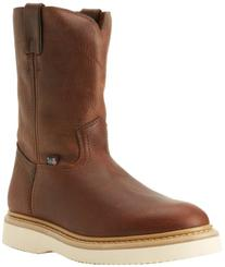 Justin Original Work Boots Men's Premium Wk Work Boot,Tan