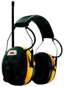 3M WorkTunes Hearing Protector, MP3 Compatible with AM/FM