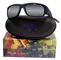 Maui Jim World Cup Sunglasses Matte Black Rubber / Neutral