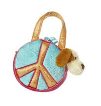Aurora World Fancy Pals Peace Sky Plush Toy Pet Carrier