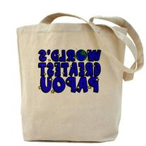 CafePress - World's Greatest Papou Tote Bag - Natural Canvas