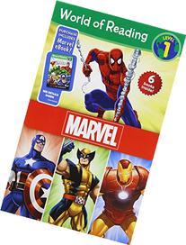 World of Reading Marvel Boxed Set: Level 1: Purchase