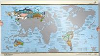 Bucket List World Map - Scratch Edition
