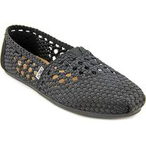 Toms Women's Woven Classic Espadrille Pumps US5 Black