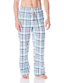Original Penguin Men's Woven Sleep Pant, Scuba Plaid, Medium