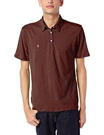 Volcom Men's Wowzer Polo Shirt, White2, XX-Large