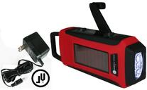 Ambient Weather WR-099-AC-KIT Compact Emergency Solar Hand