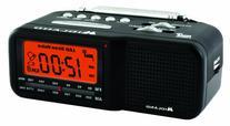 Midland WR11 AM/FM Clock Radio with NOAA All Hazard Weather