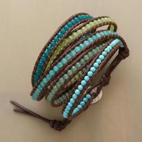 Chan Luu Wrapsody In Blue Bracelet