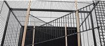 Large Wrought Iron Metal Bird Flight Cage Aviary With