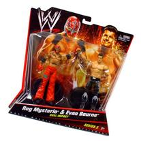 WWE Wrestling Series 3 Rey Mysterio & Evan Bourne Action