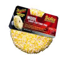 """Meguiar's WWLC7 Mirror Glaze 7"""" Wool Light Cutting Pad"""