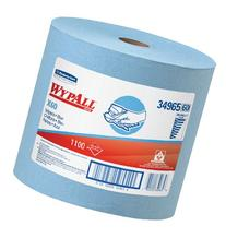 Wypall X60 Reusable Wipers , Blue, Jumbo Roll, 1100 Sheets