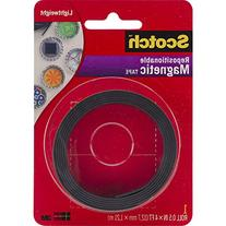 Scotch 0.5-Inch x 4-Feet Magnetic Tape