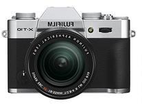 Fujifilm X-T10 Silver Mirrorless Digital Camera Kit with