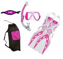 MARES X-Stream Fins X-Vision LiquidSkin Mask Ergo Dry
