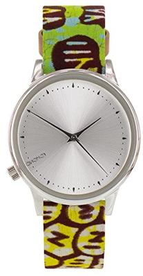 Komono x Vlisco The Estelle Watch - Women's Silver, One Size