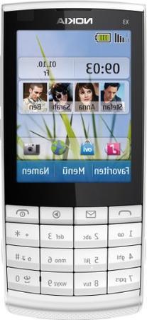X3-02 - Mobiltelefon - GSM / UMTS