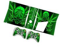 Xbox 360 Slim Skin Weed 420