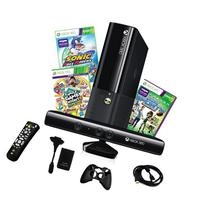 Xbox 4GB Kinect Console with 2 Games and 4 in 1 Accessory