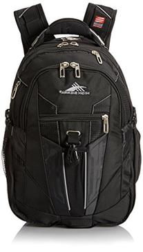 High Sierra XBT Laptop Backpack, Black