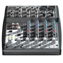 Behringer Xenyx 802 Premium 8-Input 2-Bus Mixer with Xenyx