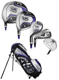 Callaway Golf XJ Hot Junior Girls 8-Piece Set Ages 5-8 Left