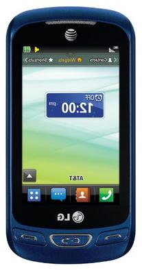 Lg - Xpression 2 4g Cell Phone - Blue