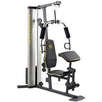 XR 55 Home Exercise Gold's Gym, weight stack, padded seat,