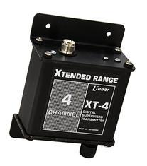 Linear XT-4 4-Channel Stationary Mid-Range Transmitter,