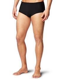 Speedo Men's Xtra Life Lycra Solid 5 Inch Brief Swimsuit,