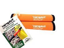 Yakgrips® Orange Non-Slip Soft Kayak Canoe Paddle Grips
