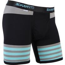 MyPakage Premium Yarn Dye Boxer Brief - Men's Heather Stripe